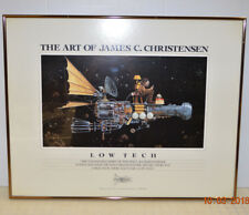 James C Christensen The Art of Low Tech Fantasy Space Age Barn Stormer '87 Frame