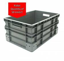 Very Strong Heavy Duty Type Stackable Plastic Euro Storage Boxes 16 Sizes 55 Litre