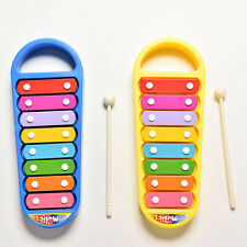 Baby Kids Boys Girls Educational Toy Musical Instrument 8-Note Xylophone Toy FT