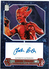 Doctor Who 2015 Autograph Sarah Parish as Empress of Racnoss Red Parallel #06/10