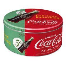 Coca Cola Delicious Refreshing Green Vorratsdose  rund