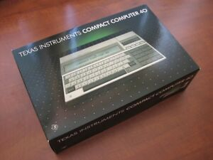 NEW RARE Vintage 🔴 1983 NOS Texas Instruments TI-CC40 Basic Pocket 🔴 Computer
