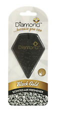Diamond Scented Gel Car Air Freshener Freshner Fragrance Scent - BLACK GOLD