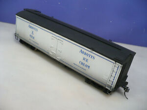 O Scale Rails Unlimited Abbott's Wood Milk Car C/P NO RESERVE