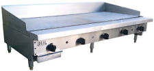 New 60 Commercial Flat Griddle Plate By Ideal Made In Usa Nsf Amp Etl Approved