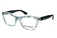 Dolce & Gabbana Brille / Fassung /Glasses DG3198 2853 Gr.52 Konkursware//365(12)