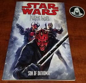 Star Wars Darth Maul – Son of Dathomir, rare 2014 Dark Horse TPB Graphic Novel