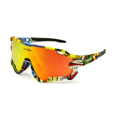 Cycling Polarized Goggles with 3 Lenses for Mountain Bike ATV Outdoor Sports