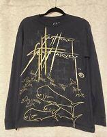 Guy Harvey Long Sleeve T-Shirt Men's Size Medium Great Shape