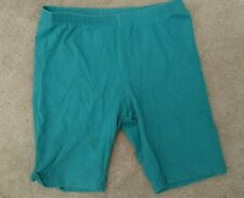 A pair of Circo bike athletic green shirts girls size 10/12