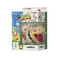 Nintendo 3ds Poochy Yoshi Wooly World Amiibo
