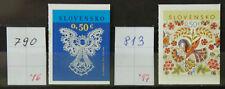 Slowakei MiNr. 790 und 813 - Selbstklebend aus Markenheftchen postfr. ** / mnh