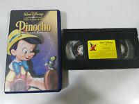 PINOCHO EDICION ESPECIAL VHS LOS CLASICOS DE WALT DISNEY COLECCIONISTA UNICA!
