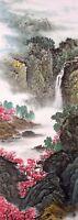 Landscape&Mountains-ORIENTAL ASIAN FINE ART CHINESE SANSUI WATERCOLOR PAINTING