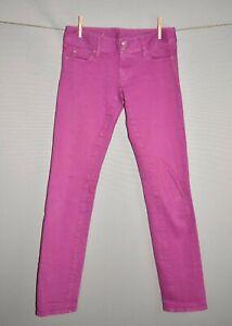 LILLY PULITZER $148 Purple Worth Straight Leg Denim Jean Size 2