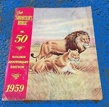 Stoeger Sales Catalog Guns Ammo Pistols Shotguns no 50 1959 Shooter's Bible Arms