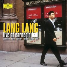 Lang Lang-Live at Carnegie Hall 2 VINILE LP NUOVO Chopin/Haydn/Liszt/Schumann/+