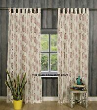Indian Ethnic Cotton Door Curtain Room Window Decor Valances Drapery Tapestries