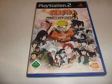 PlayStation 2  PS 2  Naruto: Ultimate Ninja