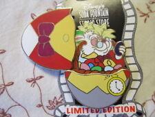 Disney Soda Fountain Pin Easter Eggs White Rabbit From Alice In Wonderland Le
