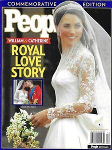 People Magazine Kate Middleton Prince William Royal Wedding Commemorative 2011
