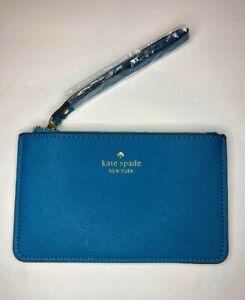 Peacock Blue Kate Spade Wristlet NWT $88