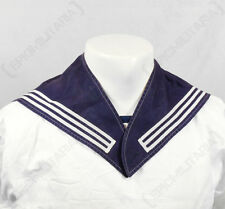 Original BUNDESMARINE SAILORS SCARF - German Navy Blue Naval Uniform Neckerchief