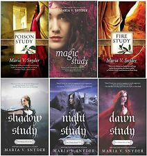 Poison Study Soulfinders Series Collection Set Books 1-6  By Maria V Snyder New!
