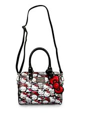 Loungefly Hello Kitty All Over Print Mini City  Embossed Bag (100%Brand New )
