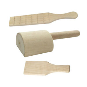 Wooden Clay Paddle Pottery Tool for Kitchen or Clay and Pottery