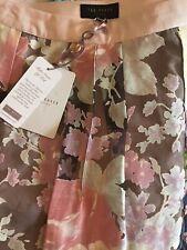 Brand New Ted Baker Floral Midi Skirt UK Size 10
