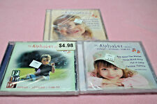 LOT of 3 CDs: The ALPHABET SERIES Songs Stories Fables BRAND NEW Sealed Music