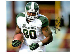 Dion Sims auto signed football photo Michigan State Spartans 2012 MSU b
