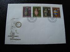 LIECHTENSTEIN -enveloppe 1er jour  timbre/stamp YvertetTellier n°545 a 548(CY16)