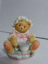Cherished Teddies Figurine 1993 Nursery Rhymes Series Little Miss Muffet
