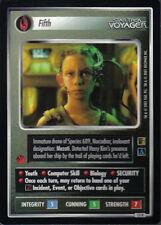 STAR TREK CCG THE BORG RARE CARD FIFTH