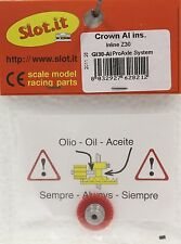 SLOT IT SIGI30A 30 TOOTH POLYMER INLINE CROWN GEAR 3/32 , NEW 1/32 SLOT CAR PART