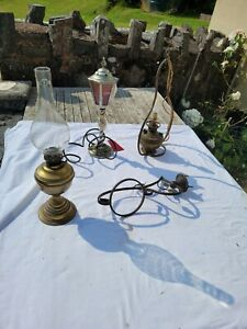 Old Lamp Parts