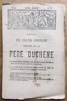Commune de Paris 1871 Père Duchêne Napoléon 3 Dufaure Picard Lyon Limoges Ferry