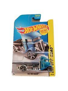 Hot Wheels Off-Road Fast-Bed Hauler, Blue. # 105/250