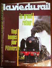 La Vie du Rail  n°2053 du 7/1986; Vingt bougies pour Pithiviers/ Saga Antirouill