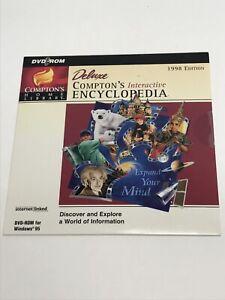 Compton's Home Library Interactive Encyclopedia 1998 Edition DVD-ROM Windows 95