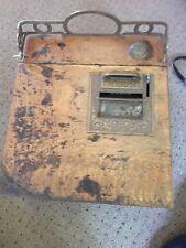 Vintage National Cash Drawer number 45 Vintage Oak Wood Money Holder Ohio 1913