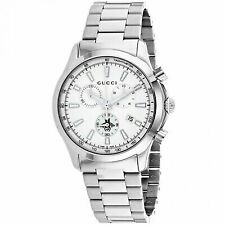 11d3f526c9c Gucci G-timeless Silver Dial Stainless Steel Unisex Watch Item No. YA126472