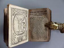 Gebetbuch Einsiedeln Geistliches Trostbrünnelein Religion Kupferstich Kälin 1779