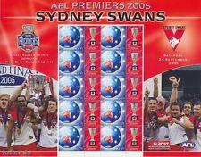 AUSTRALIEN - 2005 AUSTRALIA AFL PREMIERS SYDNEY SWANS FOOTBALL BOGEN **