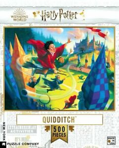 Harry Potter Quidditch 500 Piece Puzzle 457mm x 610mm (nyp)