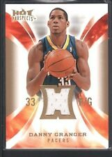 DANNY GRANGER 2008/09 HOT PROSPECTS HOT MATERIALS GAME USED JERSEY SP $12