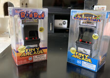 New Dig Dug & Galaxian Tiny Arcade Keychain Original Game Play 2 For Price Of 1!