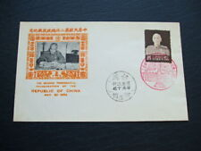 China-Taiwan Cover 2nd Presidential Inauguration Special Cancels 1954